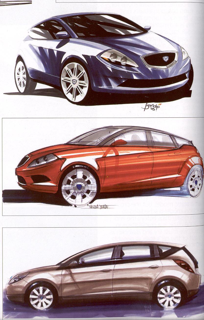 [Présentation] Le design par Lancia 0311